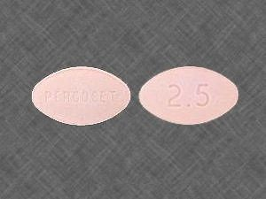 Percocet 2.5 325mg